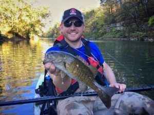 Smallmouth fishing